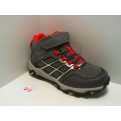 89902 GRISPORT TESSUTO - 1 GREY/RED