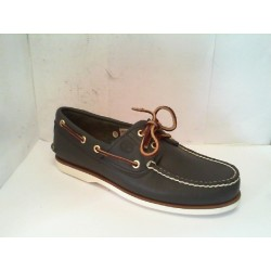 C74036 TIMBERLAND CLS2I BOAT NAVY SM - BLUE