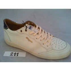 MURRAY 01 BLAUER LEATHER - WHITE