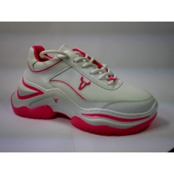 CHAOS WINDSOR SMITH BRAVE - WHT/NEON PINK